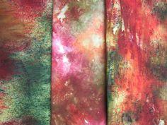 Carol R Eaton Designs: Confetti Dyed Fabric