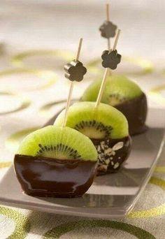 Kiwi chocolate