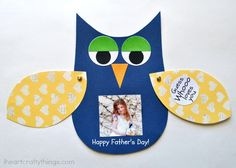 Kids Craft: DIY Father's Day Card | I Heart Crafty Things