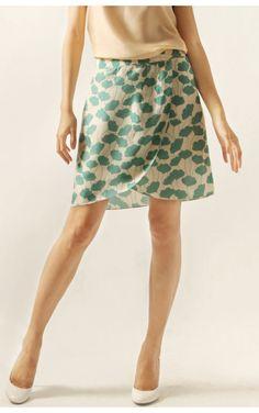 Metiseko Naiade Aquatic Leaf skirt