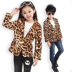 Фотография Fashion Kids, Leopard Shirt, Kind Mode, Unisex, Blazer, Blouse, Baby, Shirts, Women