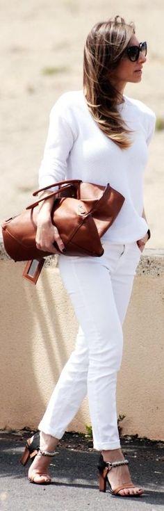 Balenciaga Camel Leather Large Tote