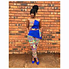 """Mpho Paballo Selomane on Instagram: """"When you slay, leave no survivors."""" African Wedding Attire, African Attire, Traditional Wedding Dresses, Traditional Outfits, Ethnic Fashion, African Fashion, Shweshwe Dresses, Zulu, African Prints"""