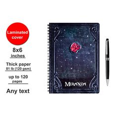 Karina Smith Diary Pirates of the Caribbean 5 Spiral Notebook