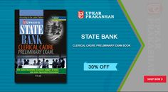 State Bank Clerical Cadre Preliminary Exam Book Online with 30% Off for Bank Clerk Entrance Exam Success.