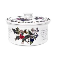 The Holly & The Ivy Covered Casserole Dish