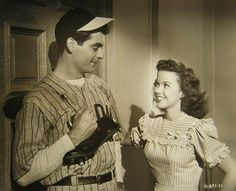 Rory Calhoun and Shirley Temple in That Hagen Girl, 1947.