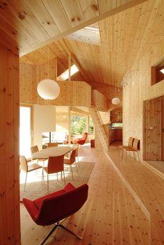 Cabin Nordmarka [interior] - JVA