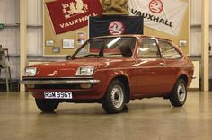 1982: Vauxhall Chevette L Hatchback.  My third car : ) in 1987,  it was shiny red just like this one!