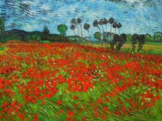 Van Gogh Field of Poppies