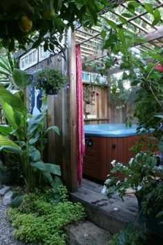 The ultimate garden hideaway--Click through to read more about this garden!