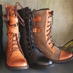 Combat boots :3