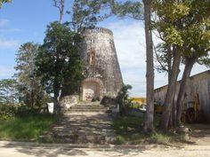 Antiguo Molino de la Central Azucarera Plazuela en Barceloneta, Puerto Rico.