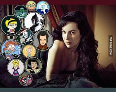 Grey Delisle. Amazing voice actress