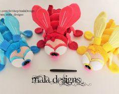 flies, crochet pattern by mala designs