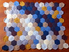 The Pixel Blanket - love this blanket's colors - beautiful!