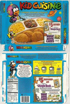 Definitely remember eating chocolate pudding from Kid Cuisines, and they are still around.
