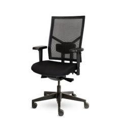 Bureaustoel Ximple, zwart, 1D armleggers Bureaustoelen