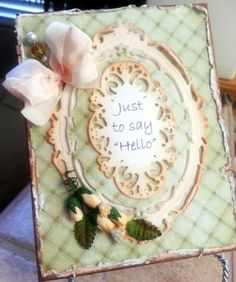 Thoughtful Hello by bellarosa - Cards and Paper Crafts at Splitcoaststampers