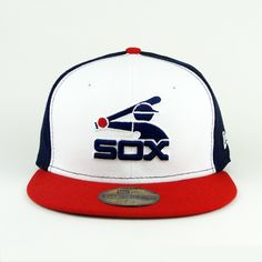 Chicago Whitesox Cooperstown Onfield New Era Hat