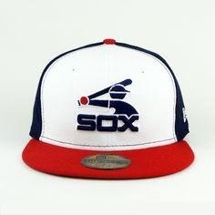Chicago Whitesox Cooperstown Onfield New Era Hat