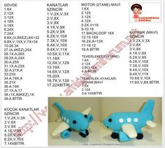 Arkadaşlarımın ve ad Crochet Car, Crochet For Boys, Crochet Bunny, Crochet Gifts, Crochet Toys, Free Crochet, Crochet Dolls Free Patterns, Crochet Doll Pattern, Amigurumi Patterns