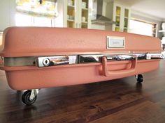 Repurpose Vintage Suitcases as Toy Storage Beneath the Bed | Cape27Blog.com