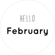Hello February SWEET PHOTO