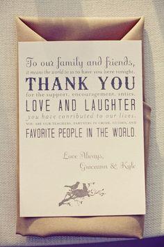 Leuk om na een bruiloft mee te geven aan je vrienden en familie.