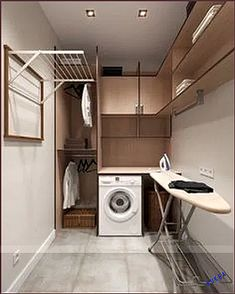 classic practical home textiles laundry room storage design ideas 20 ~ . classic practical home textiles laundry room storage design ideas 20 ~ … Modern Laundry Rooms, Laundry Room Layouts, Farmhouse Laundry Room, Laundry Room Organization, Laundry Storage, Basement Laundry, Laundry Closet, Cleaning Closet, Bathroom Modern