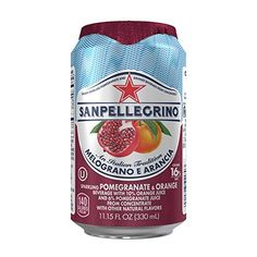 San Pellegrino Sparkling Fruit Beverages Melograno e AranciaPomegranate  Orange 1115ounce cans Total of 24 * Want additional info? Click on the image.