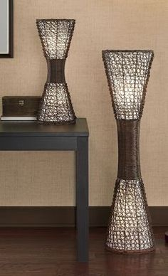 Palisade Cane Floor Lamp | Floor lamp, Room lamp and Living rooms