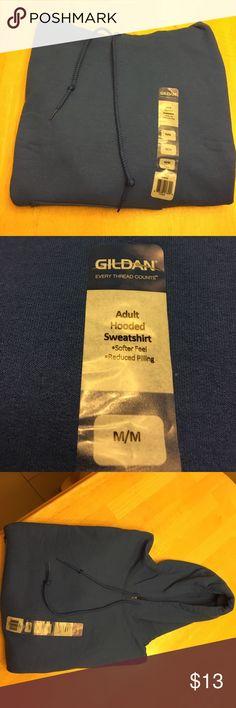 Men's (m) Gildan Hoodie Sweatshirt Men's (m) Gildan Hoodie Sweatshirt. Royal Blue NWT Gildan Shirts Sweatshirts & Hoodies