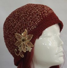 Womans Vintage Style  Hat    Hand Crochet Cloche  by SophiesHats, $30.00