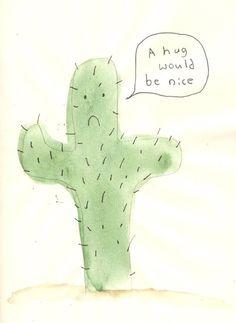 Hug me :(