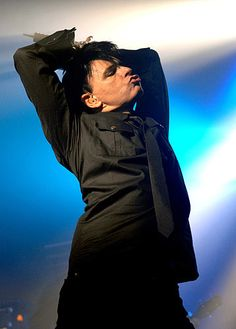 Gary Numan, lord of the darkwave dance and goth-metal master. Music Film, Music Icon, Art Music, Manchester Academy, Gig Tickets, Gary Numan, Jean Michel Jarre, The Queen Is Dead, Number One Hits