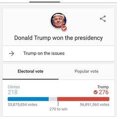 #donaldtrump #wins #presidency #2016
