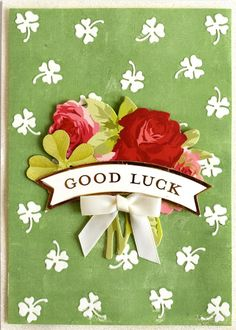 Handmade Personalised Good Luck In Your New Home Floral Wreath Card