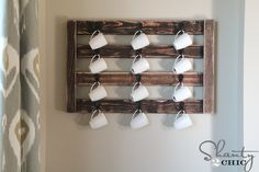 Hey there! Join us on Instagram and Pinterest to keep up with our most recent projects and sneak peeks! Hey guys! In honor of Valentine's Day and Ryobi's February challenge, we made this cute Coffee Mug Display  We LOVE coffee – that counts right? It's quick and easy to build your own. I'm going …