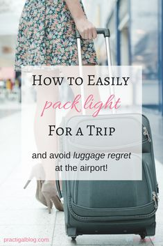 You can fit everything you need for a 10-day trip in a carry-on if you pack smart. When you pack everything in a carry-on, you need to make sure you are only packing the essentials. Click the image to get tips on how to pack light for your next trip and avoid luggage regret at the airport! Carry On Packing, Packing Tips For Travel, Travel Advice, Travel Hacks, Travelling Tips, Packing Ideas, Packing Hacks, Vacation Packing, Travel Essentials