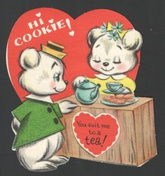 "sweet vintage valentine - ""you suit me to a tea"""