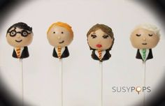 Harry Potter Cake Pops made by SUSYPOPS