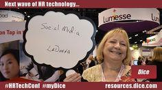 "The next wave of HR technology is... ""Social Media"" via @LovesTravelStop #HRTechConf #myDice"