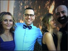 Banshee: @mattyrauch: happy people wrapping up banshee season 3 ...