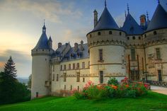 Chateau De Chaumont, Loire Valley, France. Built between 1465 and 1510 and was visited by many astrologists including Nostrodamus.