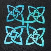 Celtic Knot Block 6 Applique Pattern  - via @Craftsy