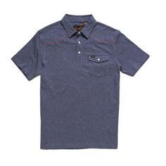 The Ranchero Polo subtly enters the room with its simple, single-button pocket front design but leaves Monkey Icon, Summer Outfits Men, Summer Clothes, Front Design, Brother, Polo Ralph Lauren, Cotton, Mens Tops, Goal