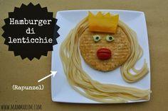 Vogliamo parlare dell'hamburger Rapunzel di @CinziaTorri?! Fantastico!