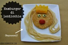 ricetta hamburger lenticchie bambini
