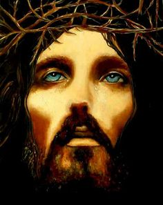 """""""Jesus Christ"""" Oil Painting by k Madison Moore. Beautiful."""